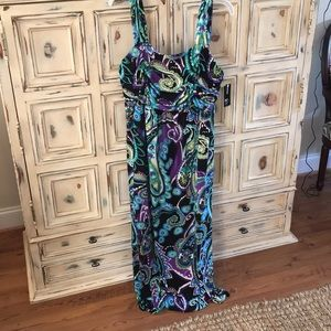 NWT-  Sleeveless plus size maxi dress